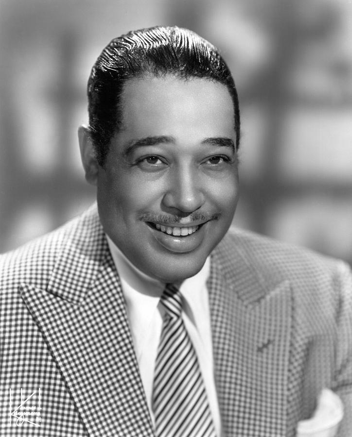 1950 Photograph - Duke Ellington (1899-1974) by Granger