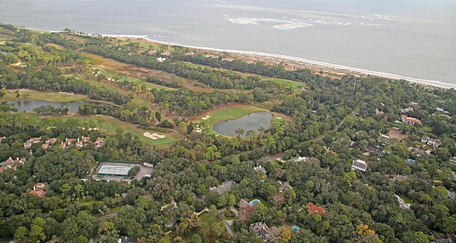 East Coast Aerial Near Jekyll Island Photograph