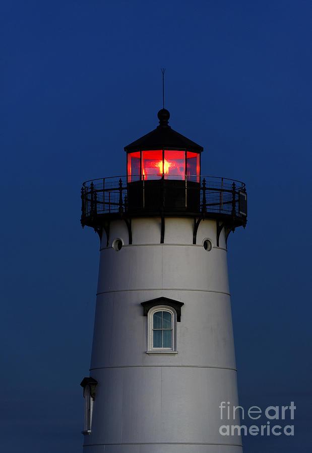 Edgartown Photograph - Edgartown Lighthouse by John Greim