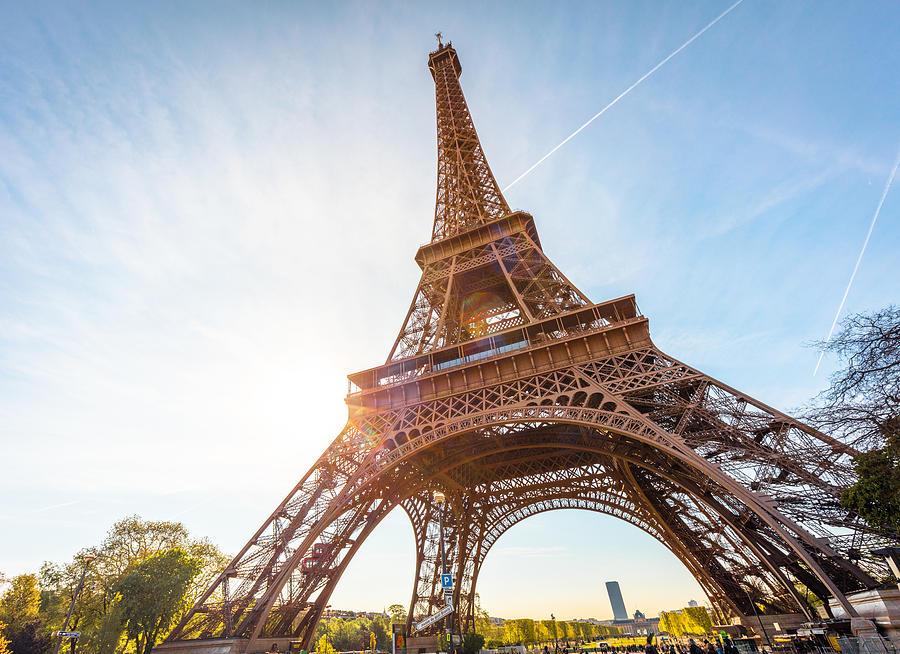 Eiffel Tower in Paris, France Photograph by Nikada