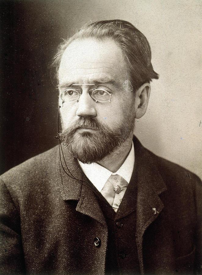 1890 Photograph - Emile Zola (1840-1902) by Granger
