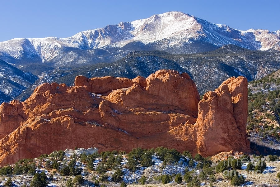 Garden Of The Gods Photograph