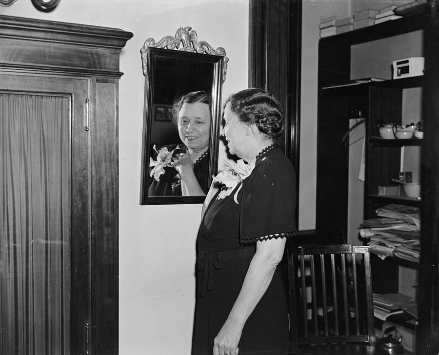 1939 Photograph - Hattie Caraway (1878-1950) by Granger