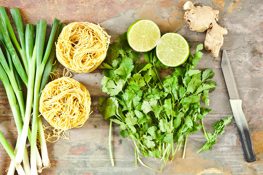 Asian Photograph - Ingredients by Tom Gowanlock