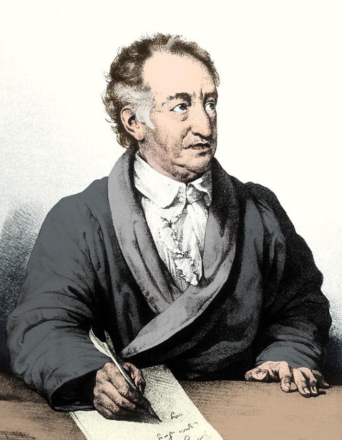 Johann Wolfgang Von Goethe German