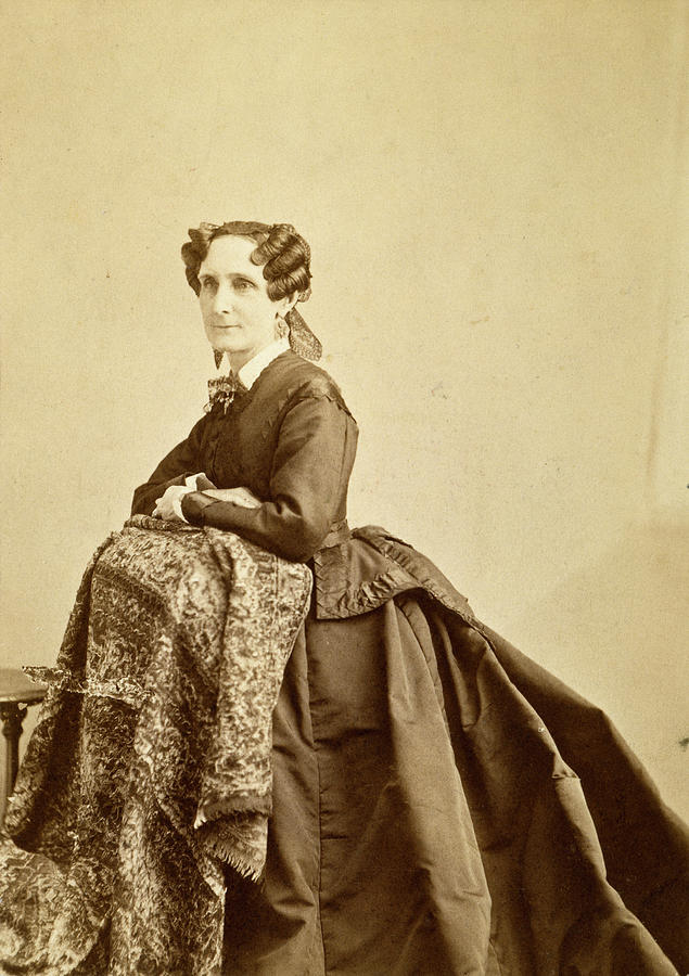 Mary Baker Eddy 1821 1910 Photograph By Granger