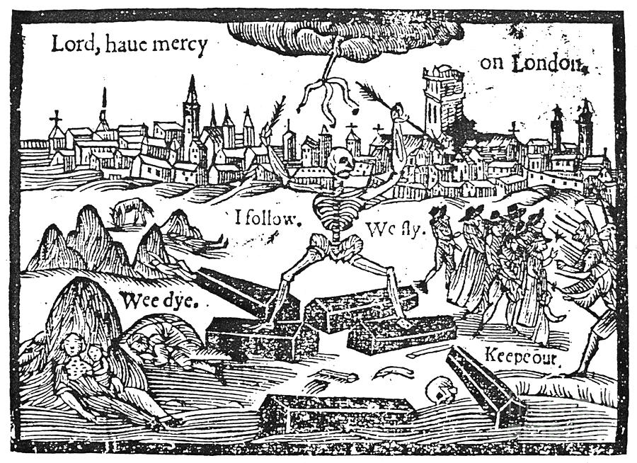 Plague Of London 1665 Photograph By Granger