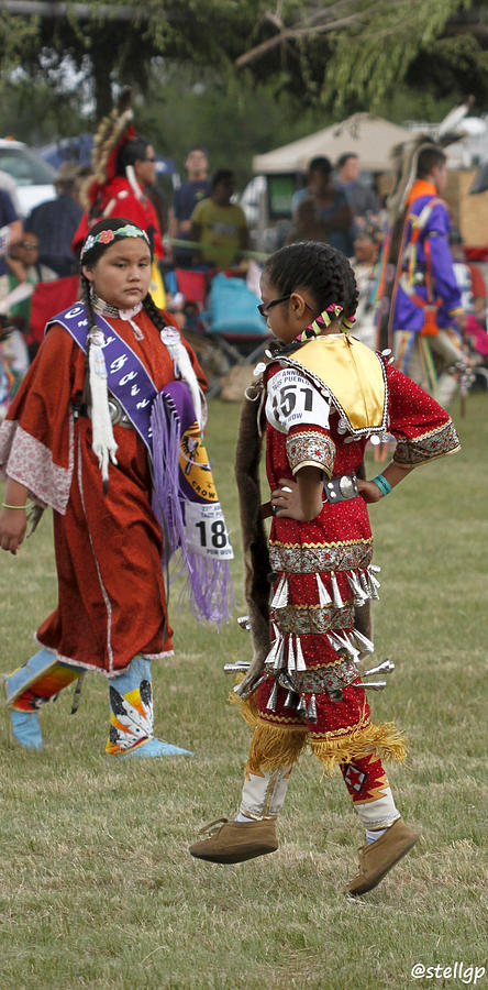 Taos Pueblo Photograph - Pow Wow by Stellina Giannitsi