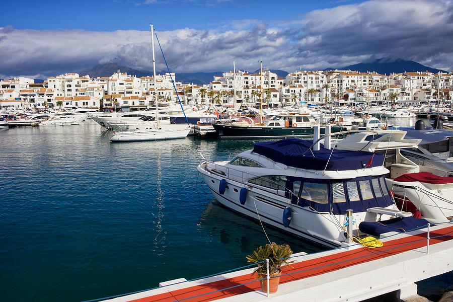 Marbella Photograph - Puerto Banus In Spain by Artur Bogacki