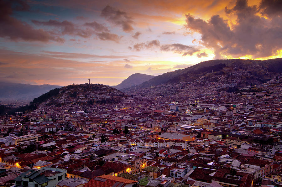 Quito, Ecuador Photograph by John Coletti