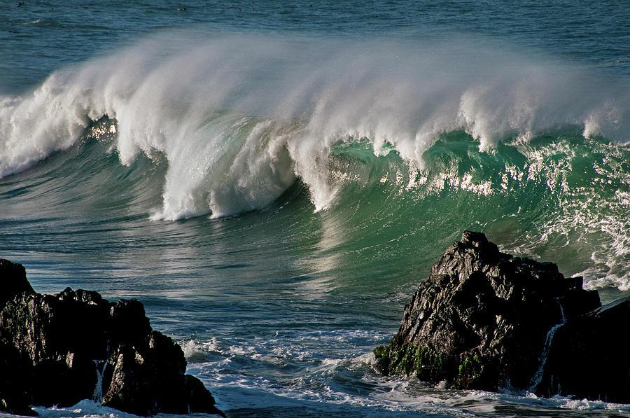 Rugged Big Sur Coast Photograph by Mitch Diamond