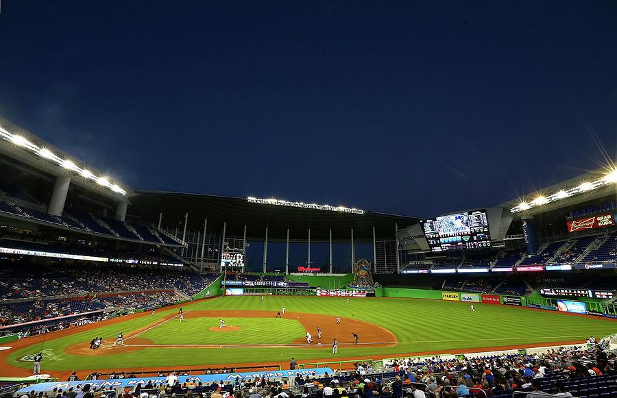 San Diego Padres V Miami Marlins Photograph by Mike Ehrmann
