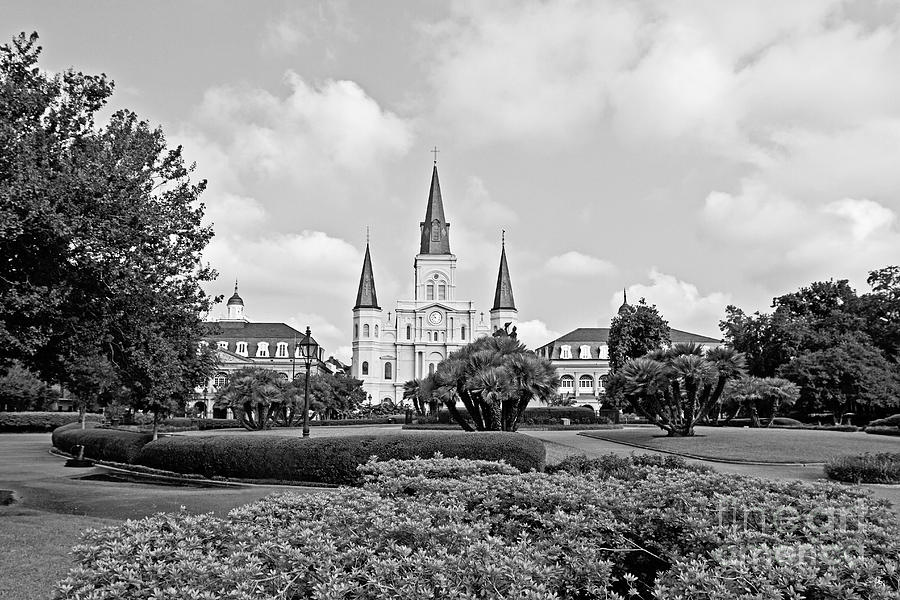 St. Louis Cathedral Photograph - St. Louis Cathedral by Scott Pellegrin