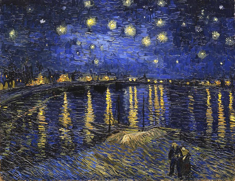Starry Night Over The Rhone by Vincent Van Gogh