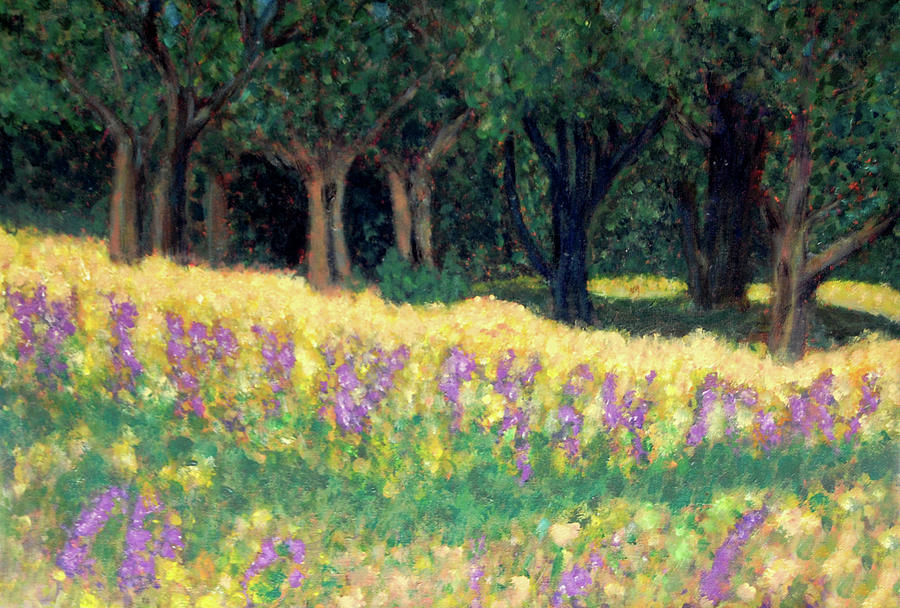 Texas Painting - Texas Gold by Carolyn Donnell