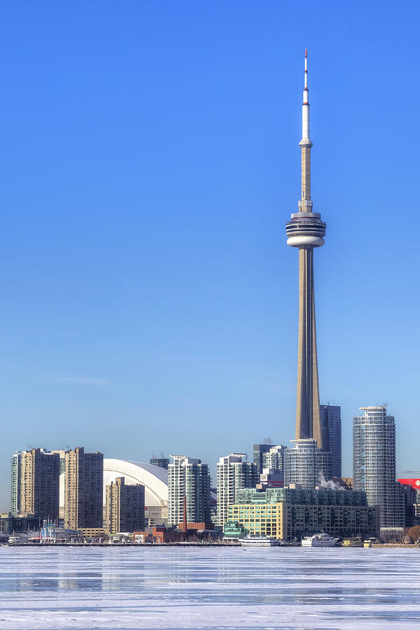 Skyline Photograph - Toronto by Joana Kruse