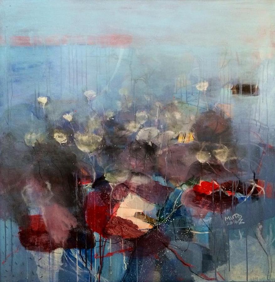 Un Title Painting by Mutaz Elemam