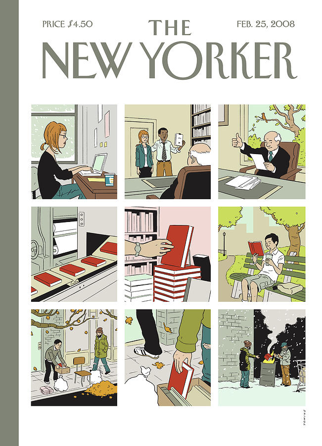 Shelf Life Painting by Adrian Tomine