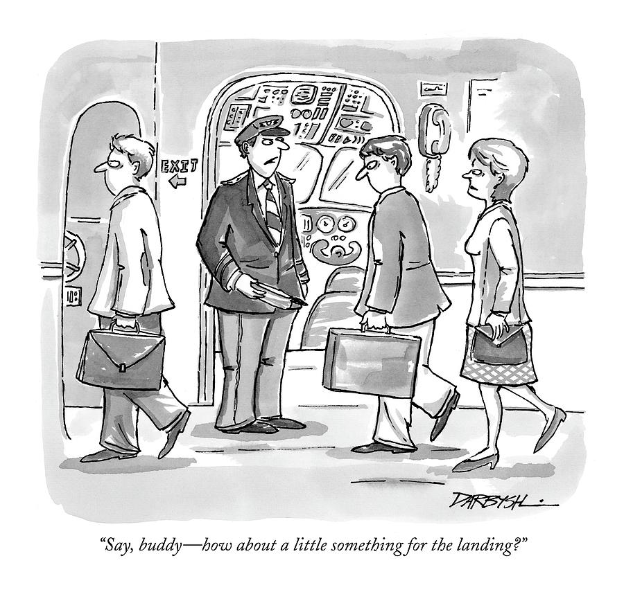 Say, Buddy - How About A Little Something Drawing by C. Covert Darbyshire