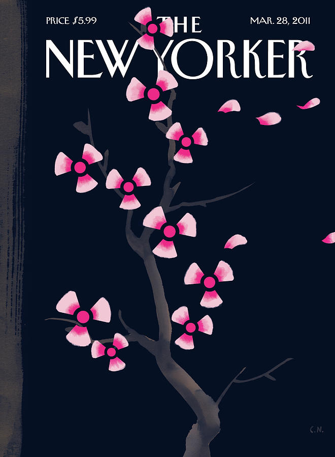New Yorker March 28th, 2011 Painting by Christoph Niemann