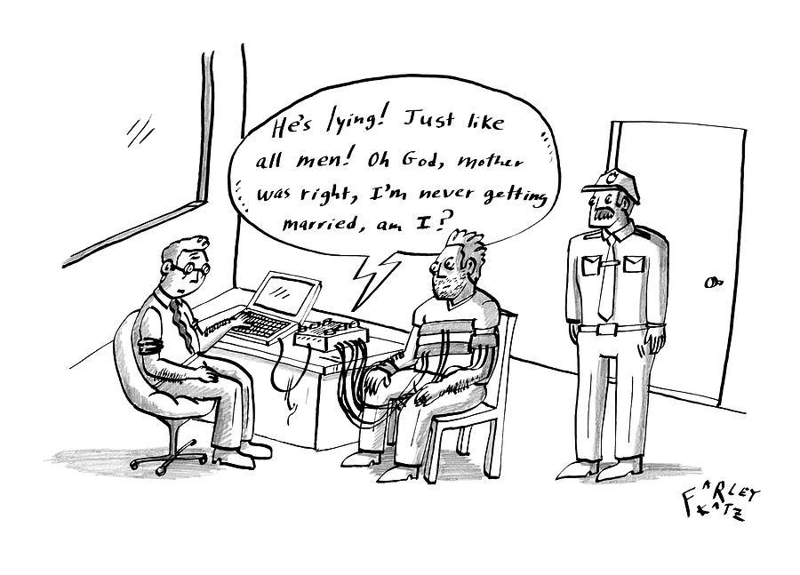 New Yorker May 18th, 2009 Drawing by Farley Katz