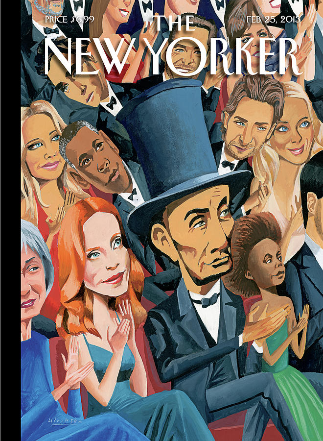 New Yorker February 25th, 2013 Painting by Mark Ulriksen