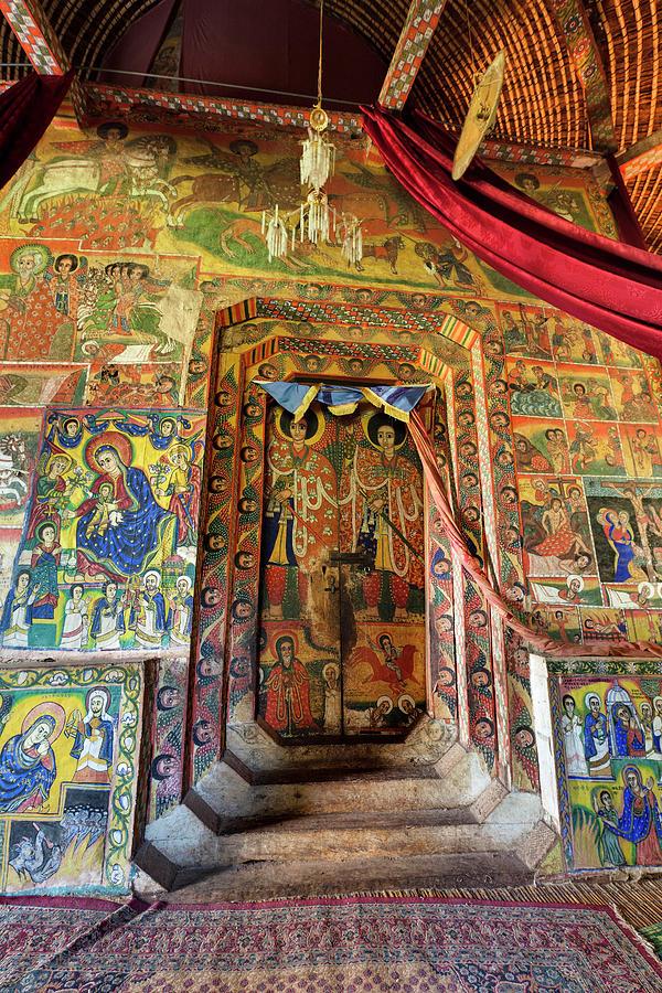 Abyssinia Photograph - Ura Kidane Meret Monastery, Lake Tana by Martin Zwick