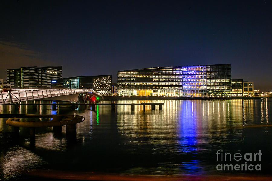 Copenhagen Photograph - Waterfront by Jorgen Norgaard