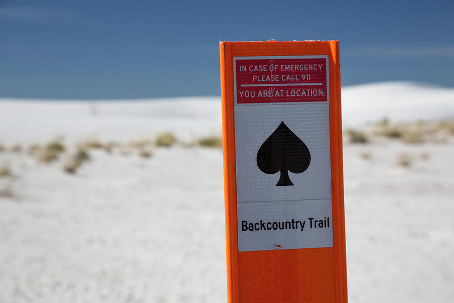 No-one Photograph - White Sands National Monument by Jim West