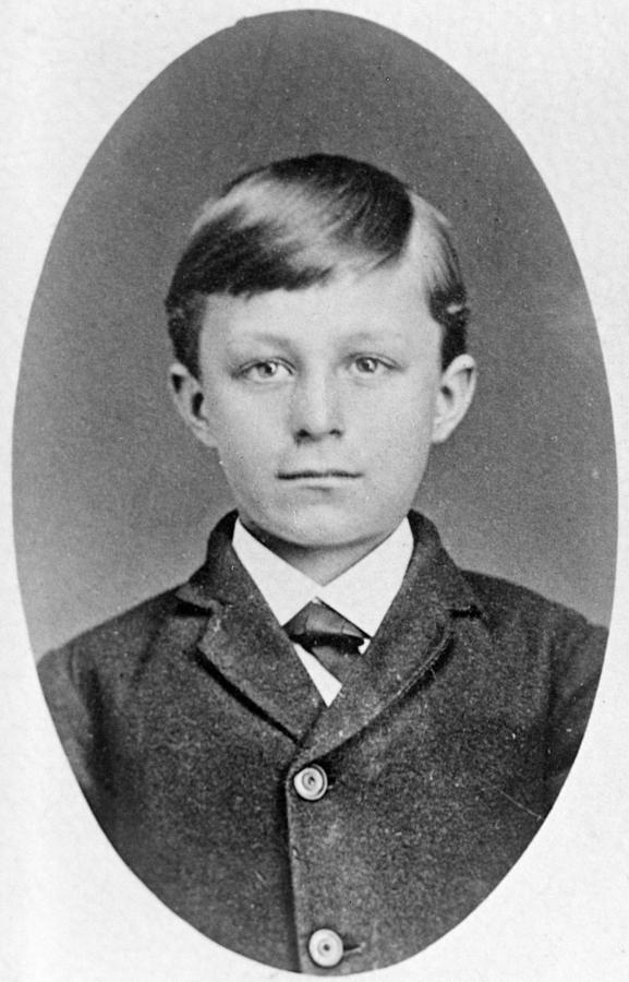 19th Century Photograph - Wilbur Wright (1867-1912) by Granger