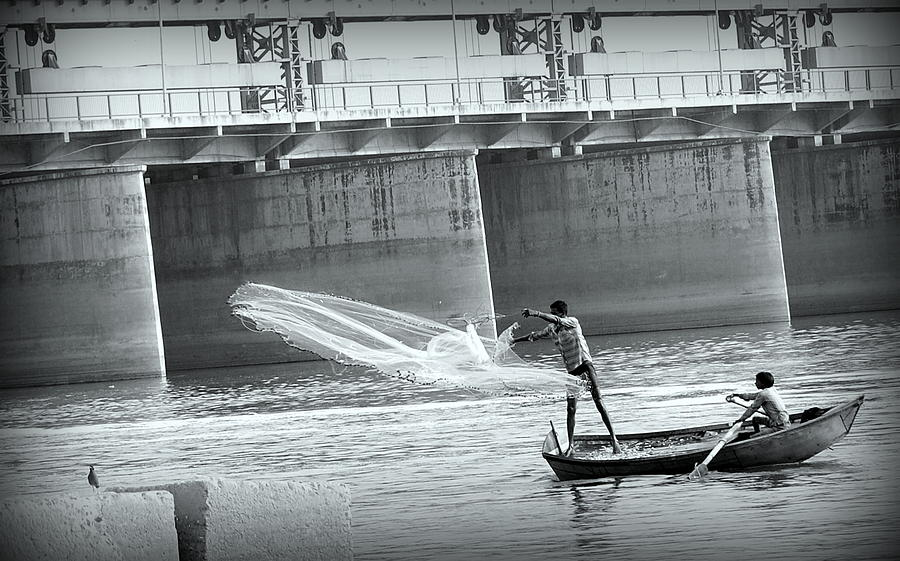 Fishing Photograph - Photography by Ashish Misra