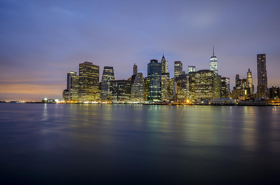 Nyc Photograph - 600am by Johnny Lam
