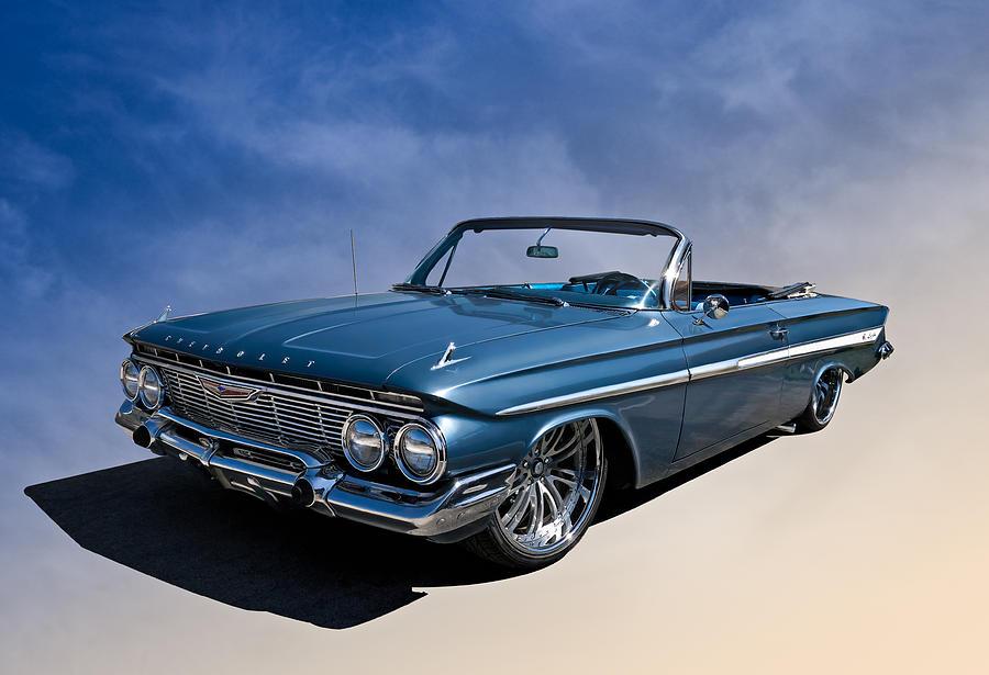 Classic Digital Art - 61 Impala by Douglas Pittman