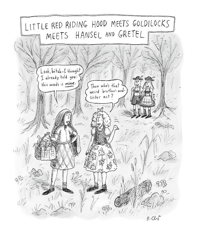 New Yorker April 16th, 2007 Drawing by Roz Chast