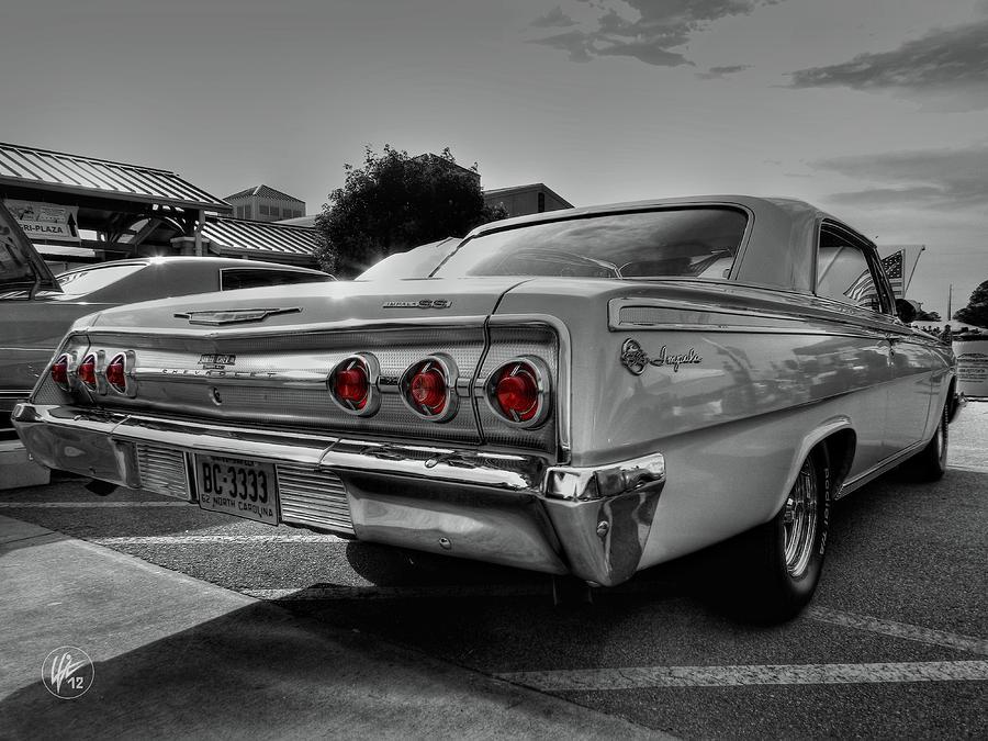 Chevrolet Photograph - 62 Impala Ss 001 by Lance Vaughn