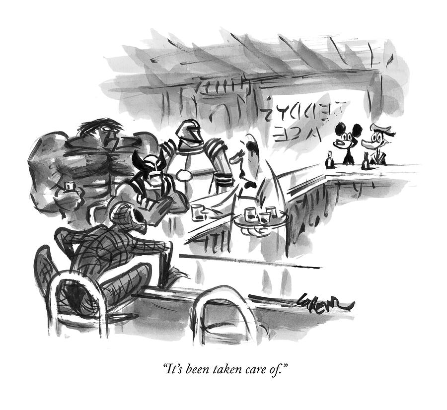 New Yorker September 14th, 2009 Drawing by Lee Lorenz