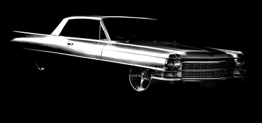 Cadillac Photograph - 63 Coupe De Ville by motography aka Phil Clark