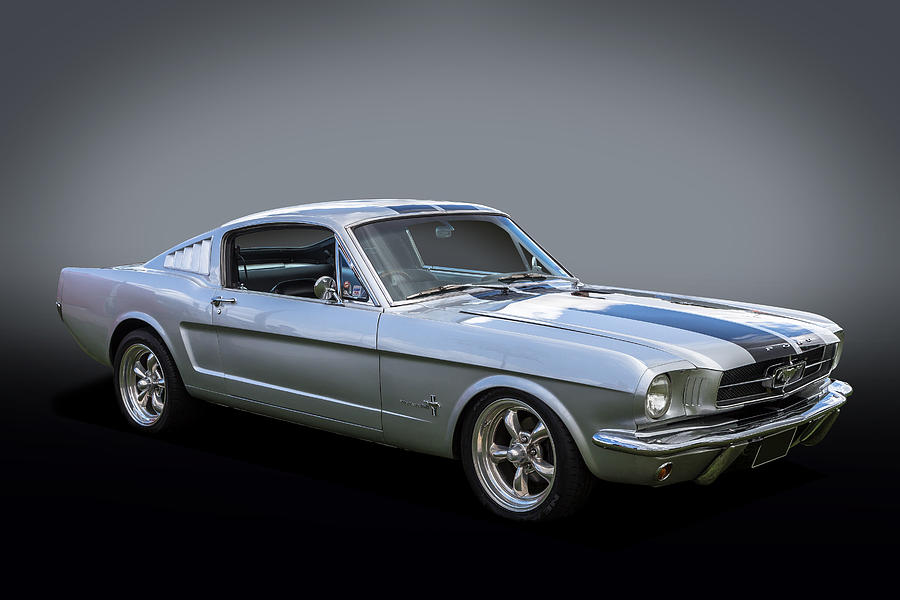 64 Fastback Photograph by Keith Hawley