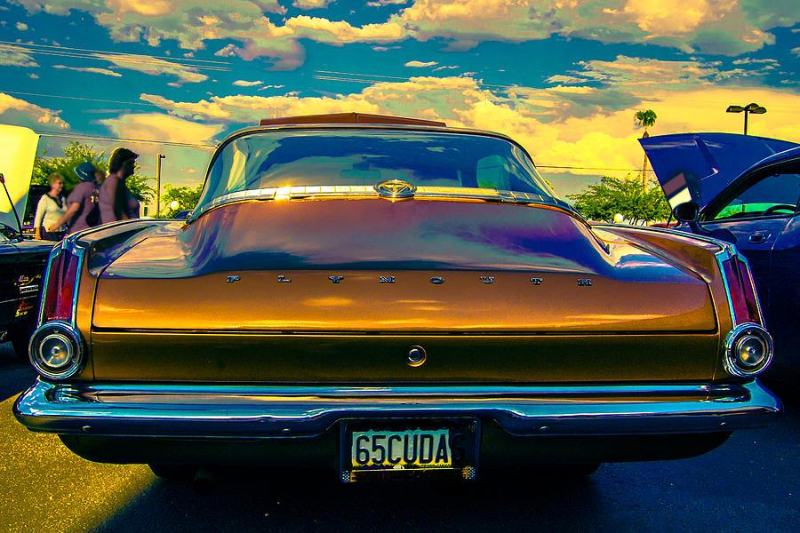 Classic Car Photograph - 65 Cuda by Daniel Enwright