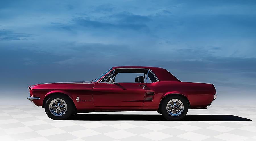 Mustang Digital Art - 67 Mustang by Douglas Pittman