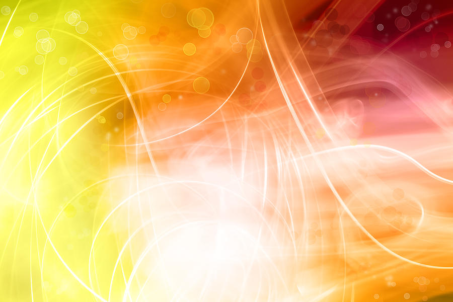 Backgrounds Photograph - Abstract Background by Les Cunliffe