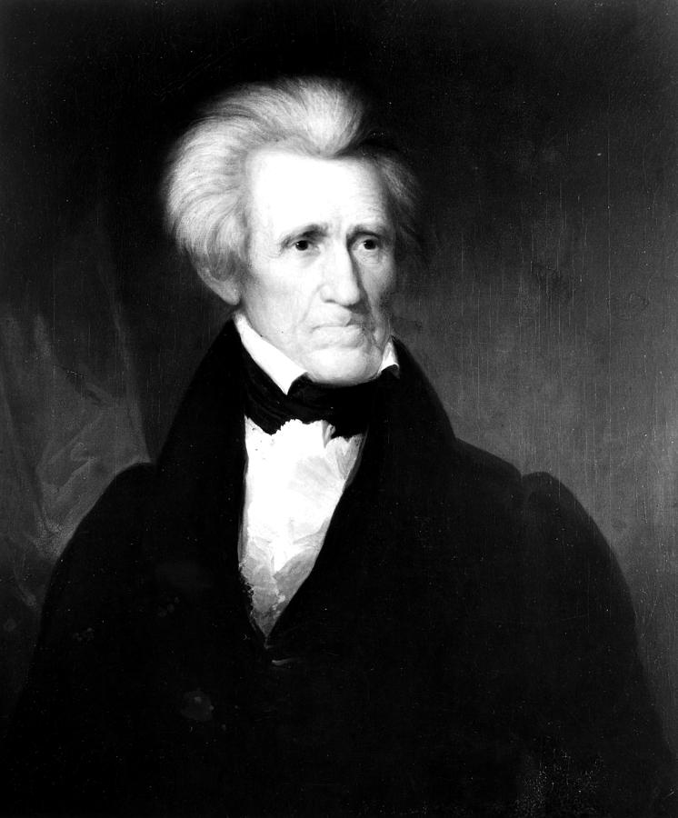 1835 Painting - Andrew Jackson (1767-1845) by Granger