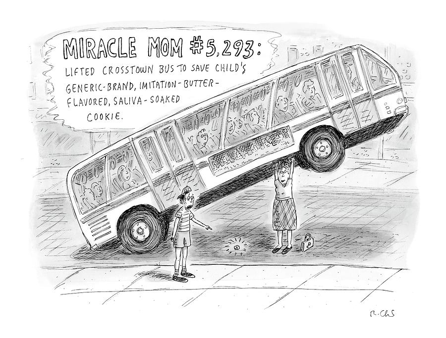 New Yorker October 8th, 2007 Drawing by Roz Chast