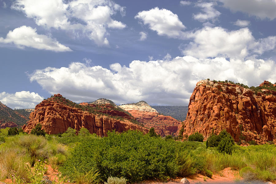 Spires Photograph - Capitol Reef National Park by Mark Smith