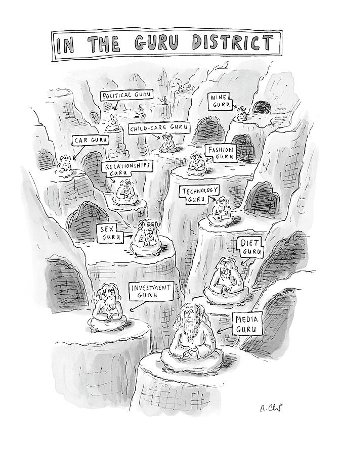 New Yorker March 10th, 2008 Drawing by Roz Chast