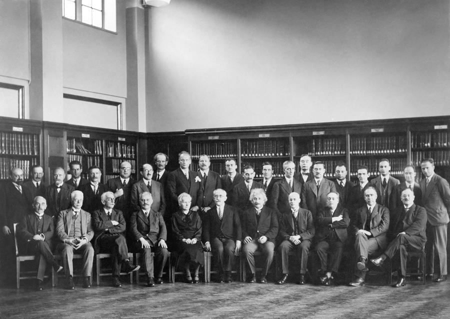 6th Solvay Conference on Physics, 1930 Photograph by ...