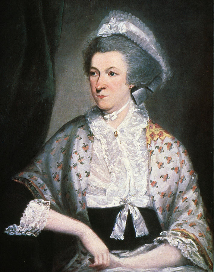 1785 Painting - Abigail Adams (1744-1818) by Granger