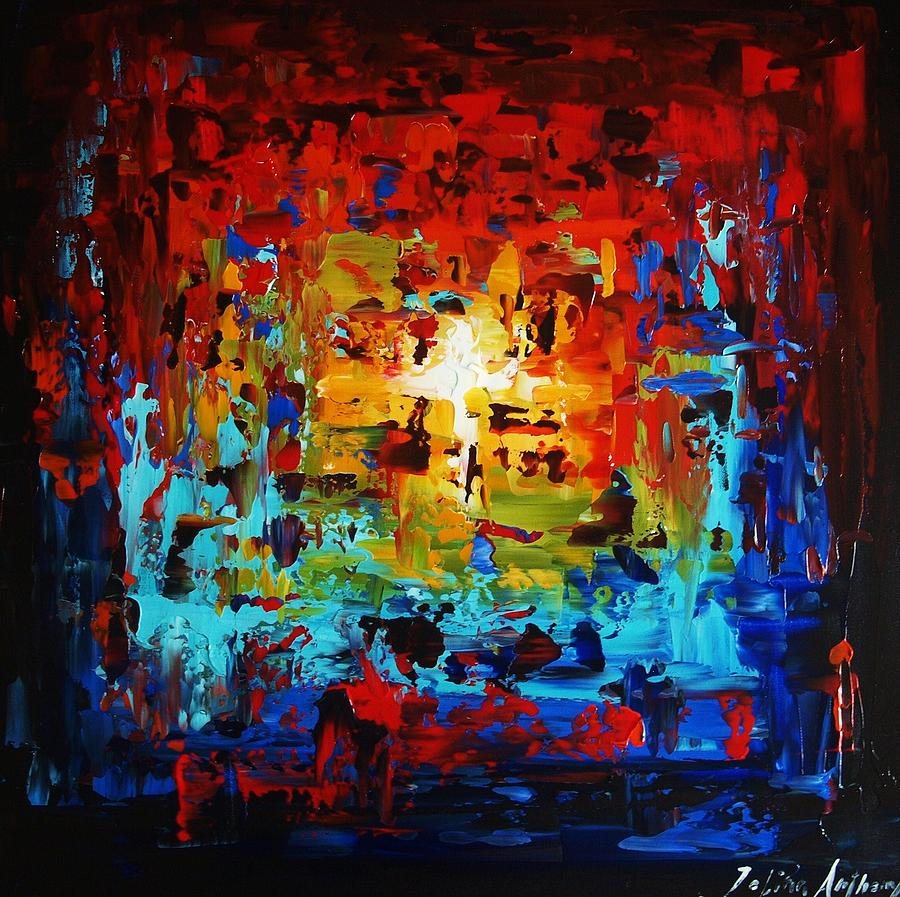 Abstract Painting Painting by Jolina Anthony - photo #9