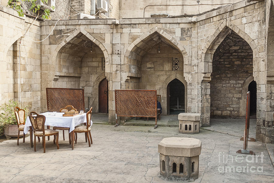 Architecture In Baku Azerbaijan Photograph