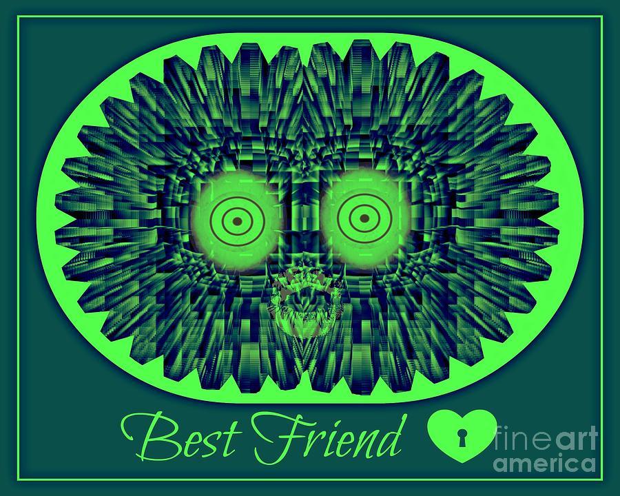 Best Friends Digital Art by Meiers Daniel
